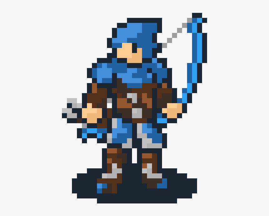 Fire Emblem Pixel Art, HD Png Download, Free Download