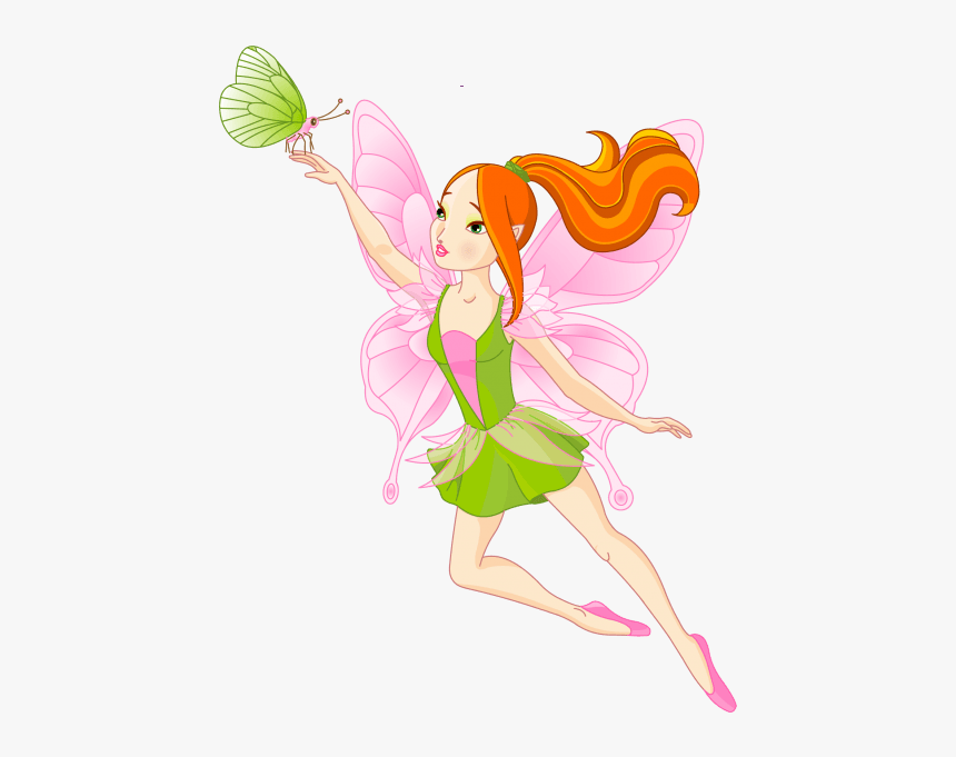 Fairy Graphics Butterfly Fairy Wings Clip Art Cartoon Fairy Transparent Background Hd Png Download Kindpng