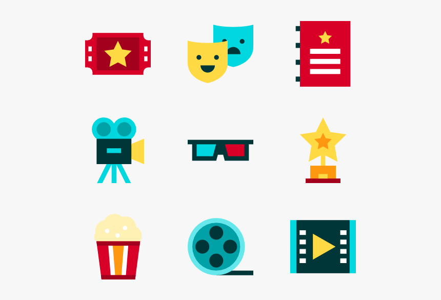 Cinema Entertainment Movie Icon Vector Hd Png Download Kindpng
