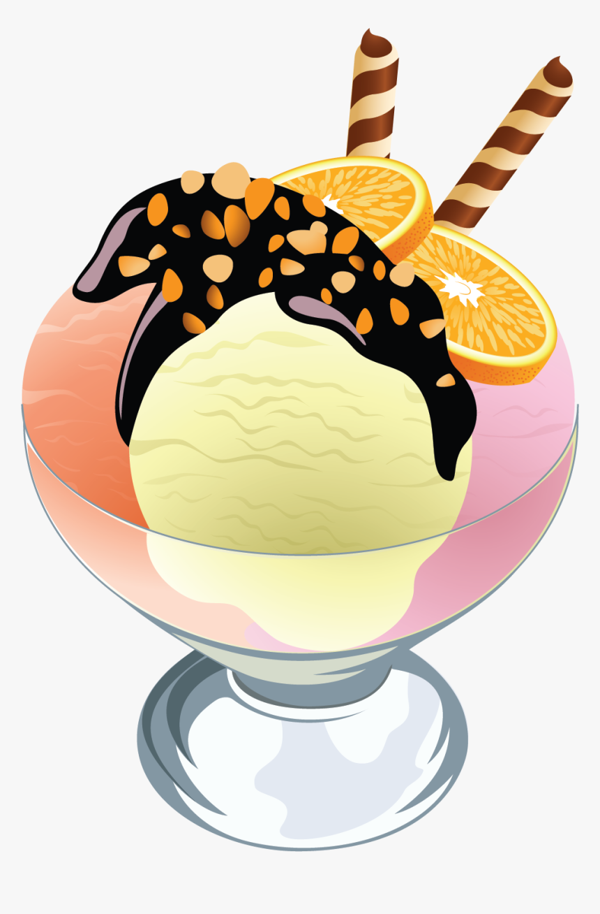 Sundae Clipart Glaces Clip Art Drinks Ice Cream Clip Ice Cream Cup Clipart Hd Png Download Kindpng