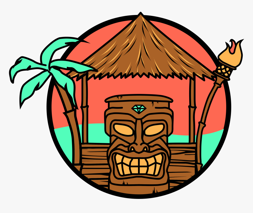 Hut At Getdrawings Com - Tiki Clipart, HD Png Download, Free Download