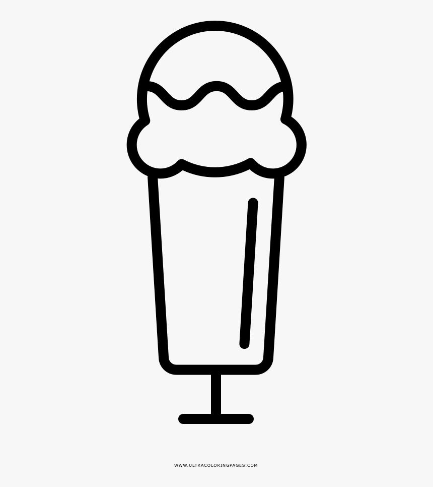 Ice Cream Sundae Coloring Page Imagenes Para Dibujar Postres Hd Png Download Kindpng