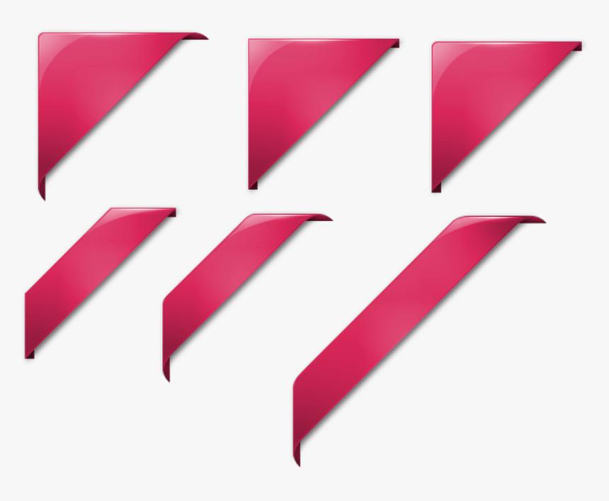 Graphic, Design, Ribbon, Corners, Corner, Transparent - Esquinas Png, Png Download, Free Download