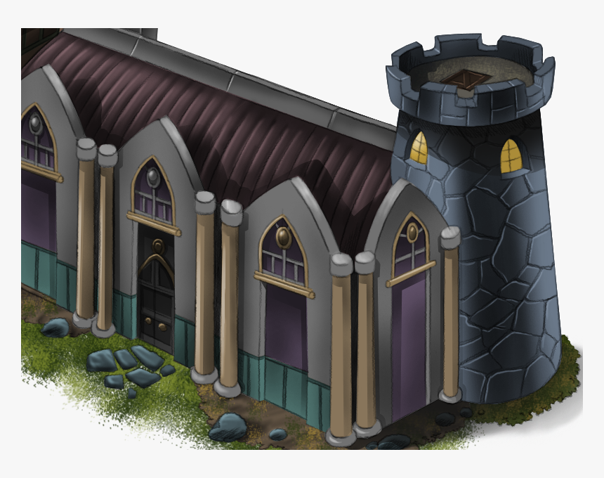 Lord Noble Castle Castle Tower Lord Noble Illustration - Roof, HD Png Download, Free Download