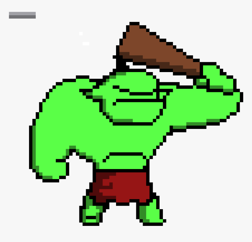 Pixel Art Orc, HD Png Download, Free Download