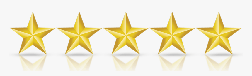 5 Star Review Png, Transparent Png, Free Download