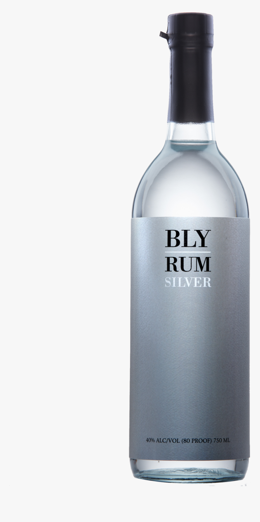 Bly Silver Rum Awarded 5-star Rating In Spirit Journal - Glass Bottle, HD Png Download, Free Download