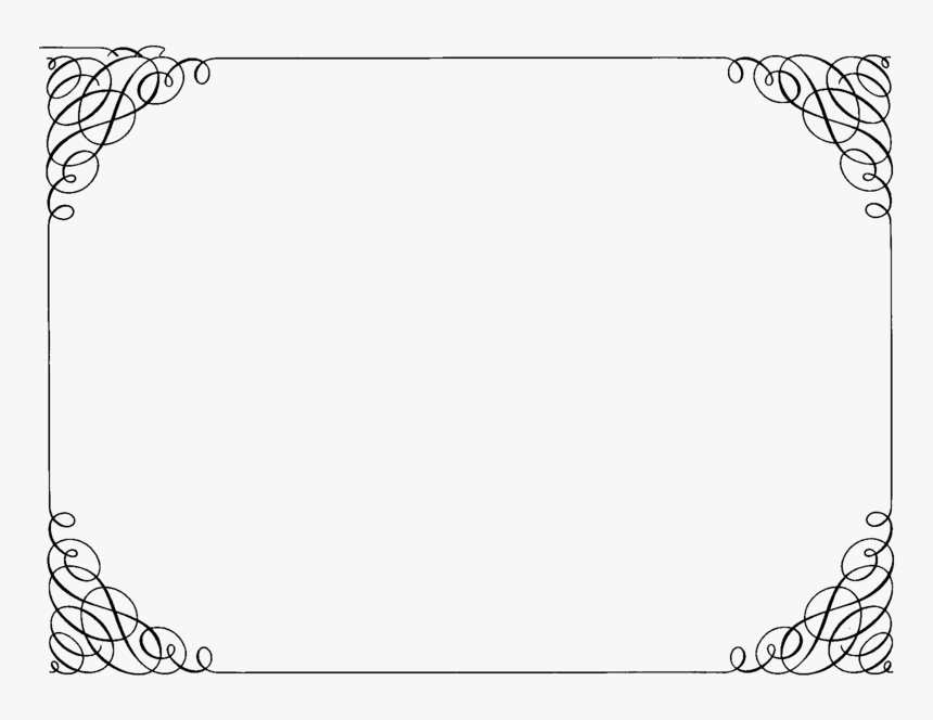 Transparent Background Certificate Borders, HD Png Download, Free Download