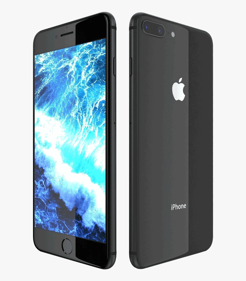 Iphone 8 Plus Red Transparent, HD Png Download - kindpng | 981x860