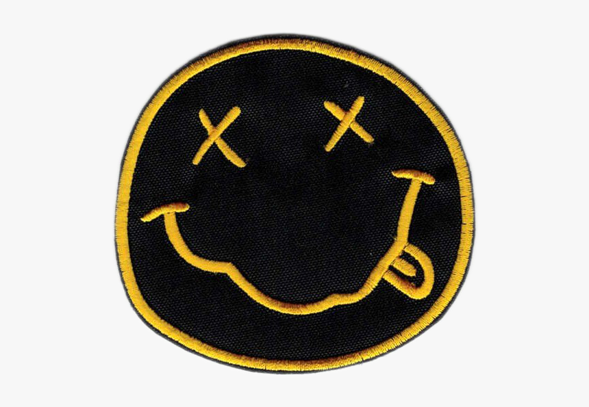 Nirvana Png High-quality Image - Smiley Face Nirvana Logo, Transparent Png, Free Download