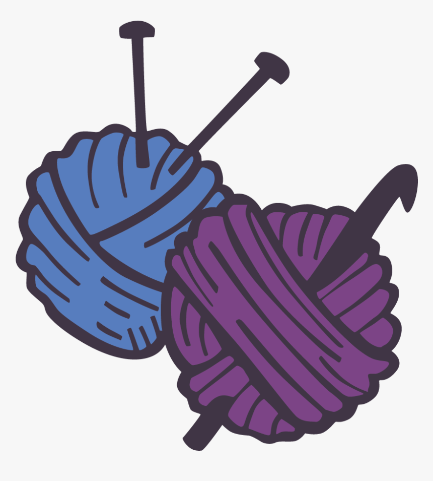 Crochet And Knitting Classes Available At Straightcurves Knitting And Crochet Svg Hd Png Download Kindpng