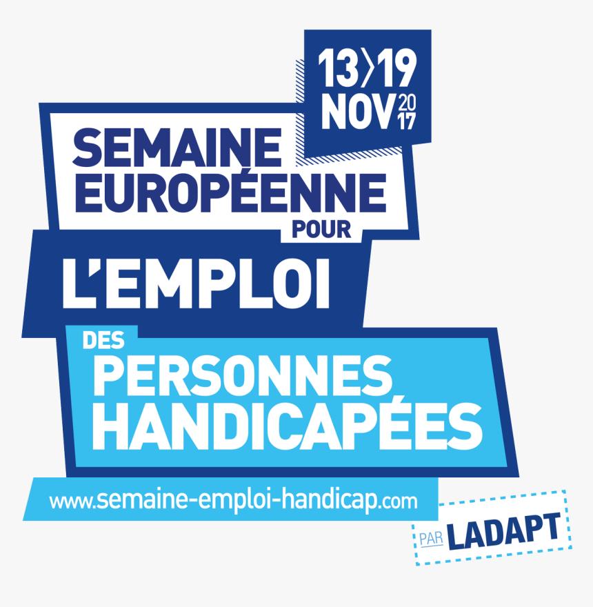 Seeph2017 - Semaine Européenne Pour L Emploi Des Personnes Handicapées, HD Png Download, Free Download