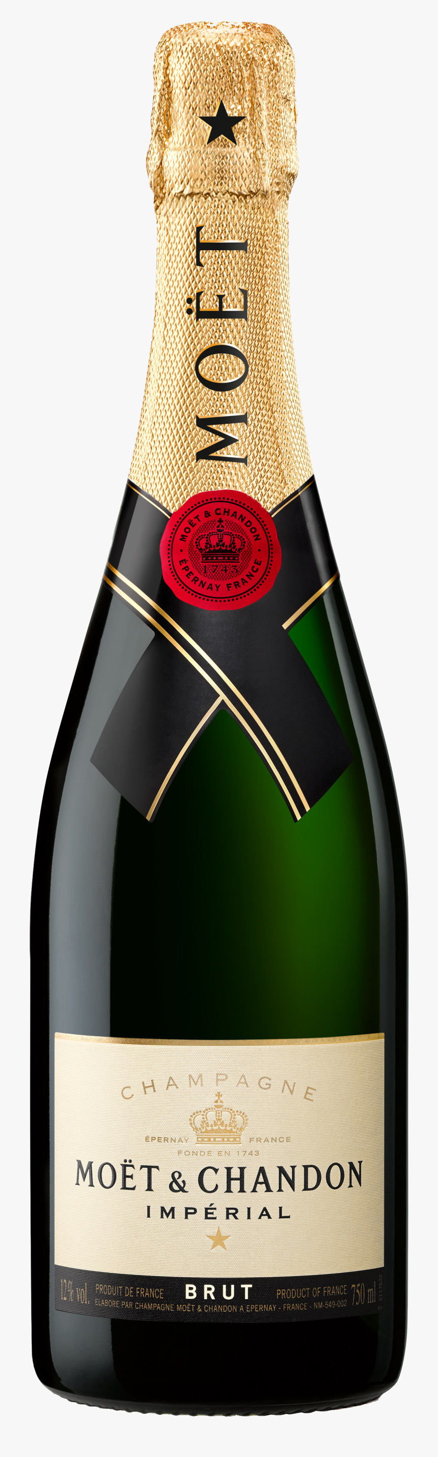 Moet & Chandon Imperial 750ml, HD Png Download, Free Download