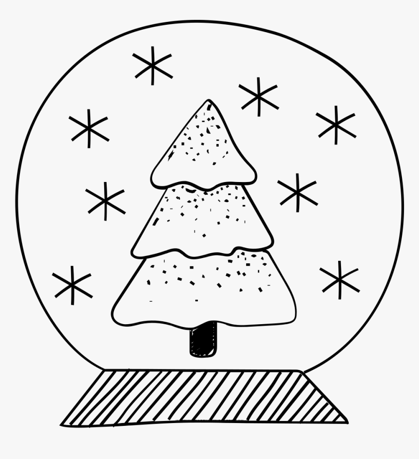Snow Globe Coloring Page | Christmas coloring pages, Coloring ... | 943x860