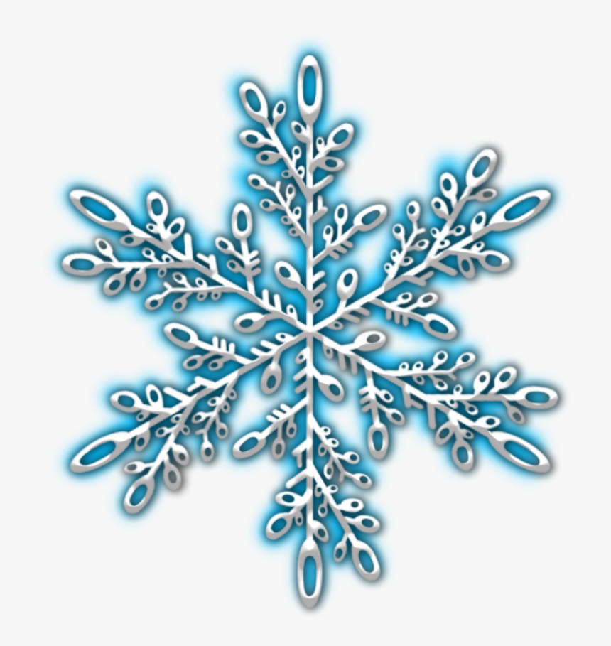 Transparent Snow Falling Clipart Black And White - Snowflake Winter Png, Png Download, Free Download