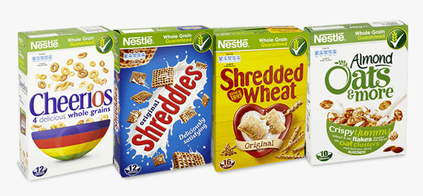 Transparent Cereal Bowl Clipart - Nestle Whole Grain Cereals, HD Png Download, Free Download