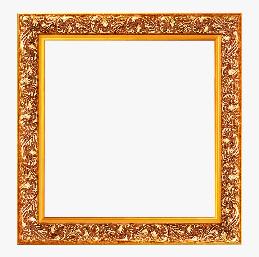 Vintage Frames Golden - Marcos Para Fotos Elegantes, HD Png Download, Free Download