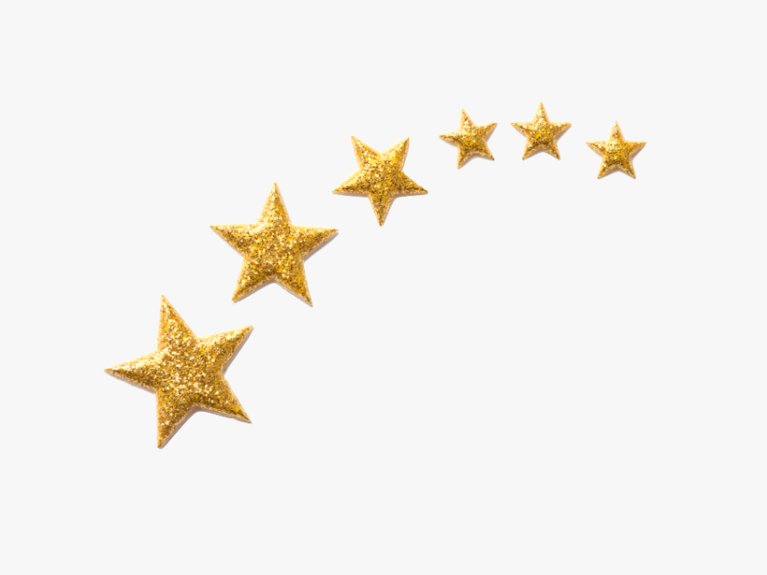 Picture Of Stars For Esthetics Training No Background - Gold Stars In Png, Transparent Png, Free Download