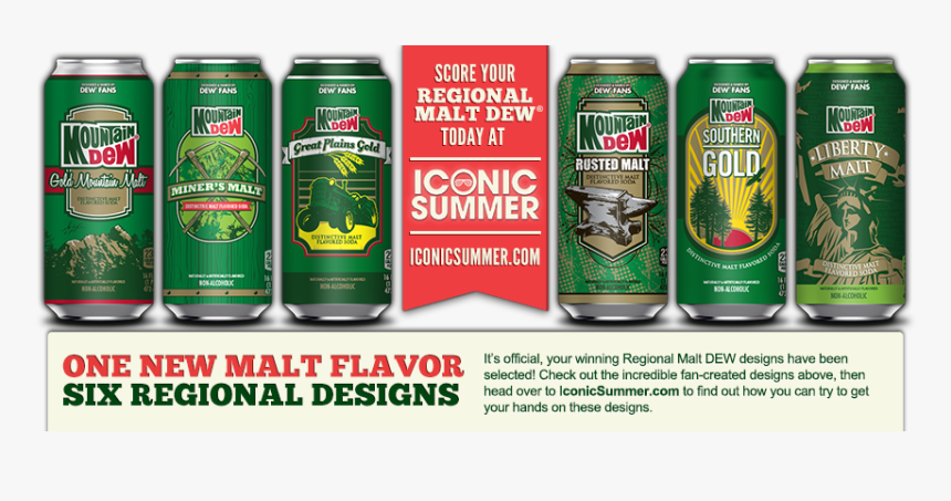 Winners Iconic Summer - Mountain Dew Throwback, HD Png Download, Free Download