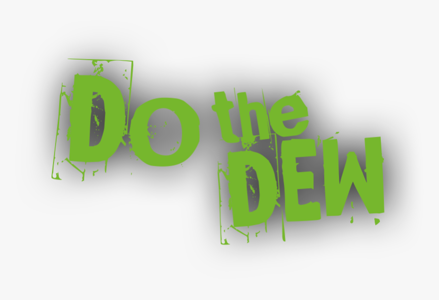 Do The Dew Logo Png , Png Download - Graphic Design, Transparent Png, Free Download
