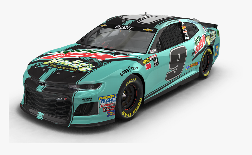 Mountain Dew Race Car, HD Png Download, Free Download