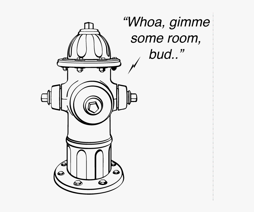 Transparent Fire Hydrant Png - Do Not Park In Front Of A Fire Hydrant, Png Download, Free Download