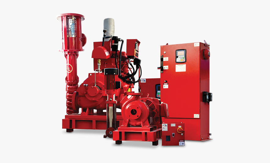Fire Pump Systems - Sffeco Fire Pump System, HD Png Download, Free Download