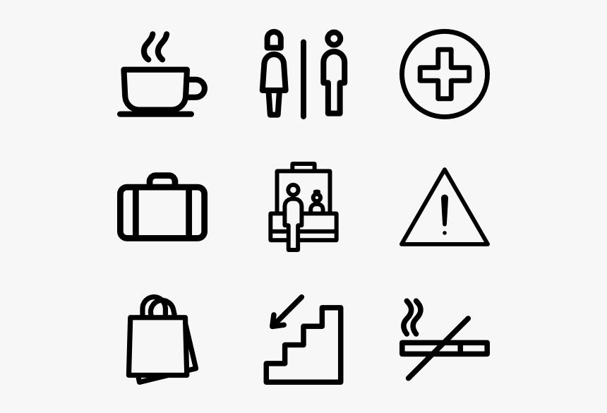 Airport Terminal Signs Png, Transparent Png, Free Download