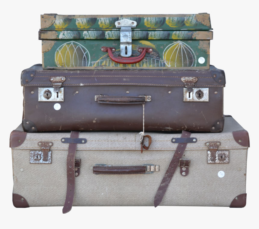 Stacked Luggage Png, Transparent Png, Free Download