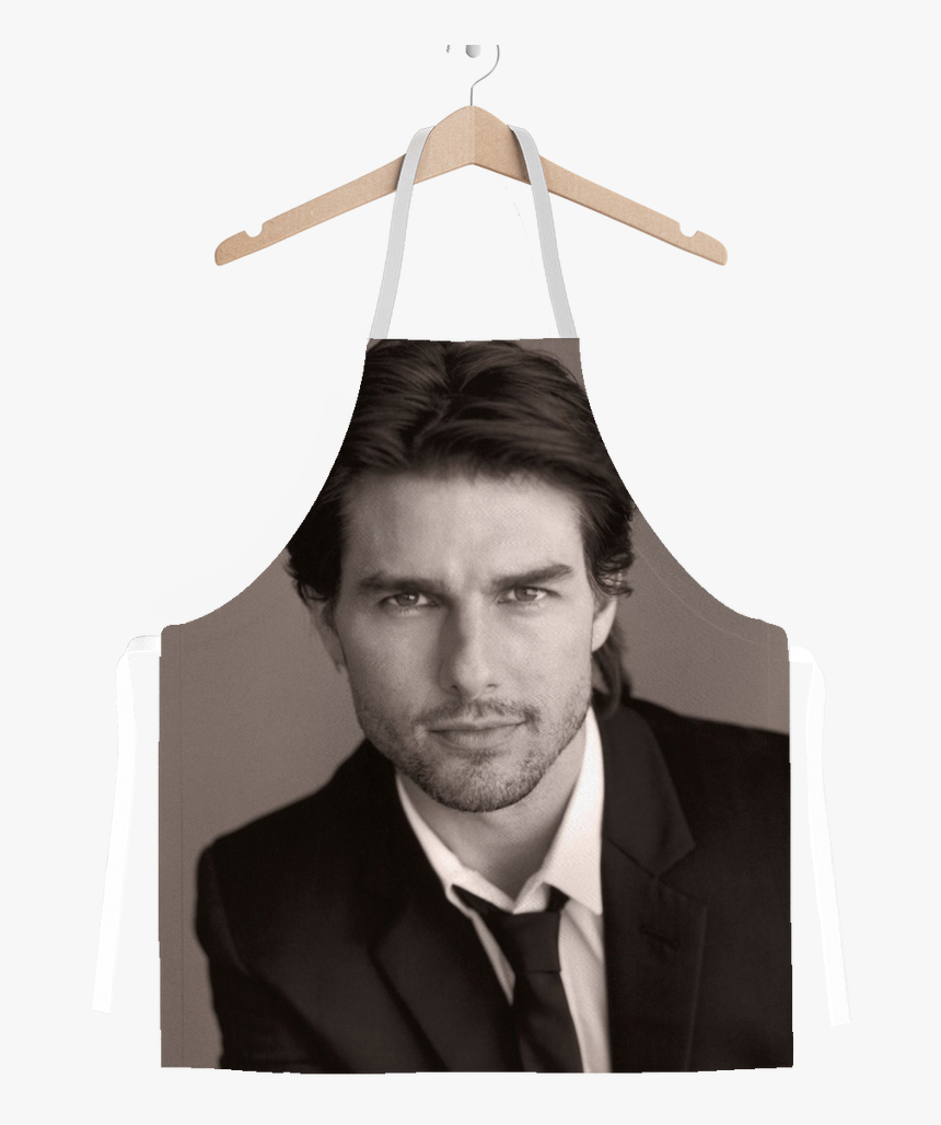 Tom Cruise In Black And White classic Sublimation - Zac Efron Vs Tom Cruise, HD Png Download, Free Download