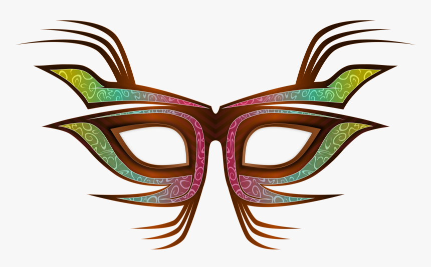 Masquerade Mask Cliparts - Party Mask Png, Transparent Png, Free Download