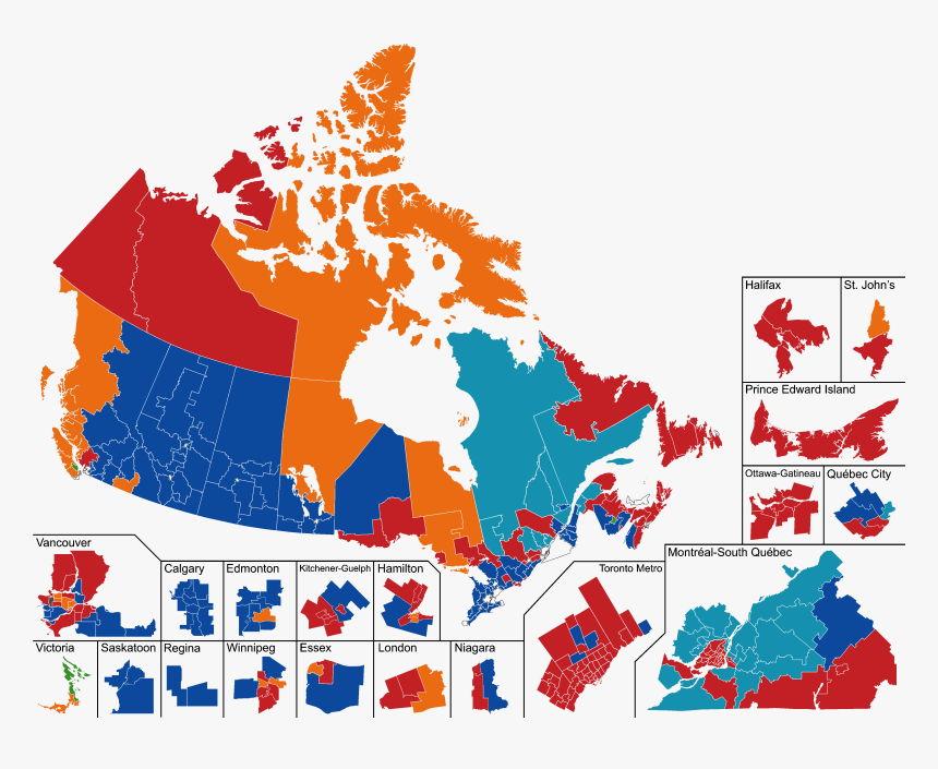 Canada 2019 Preliminary - Election Results Canada 2019, HD Png Download, Free Download