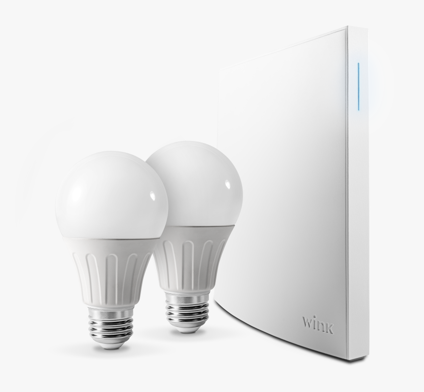 Wink Bright Smart Lighting Kit, Hub Included - Incandescent Light Bulb, HD Png Download, Free Download
