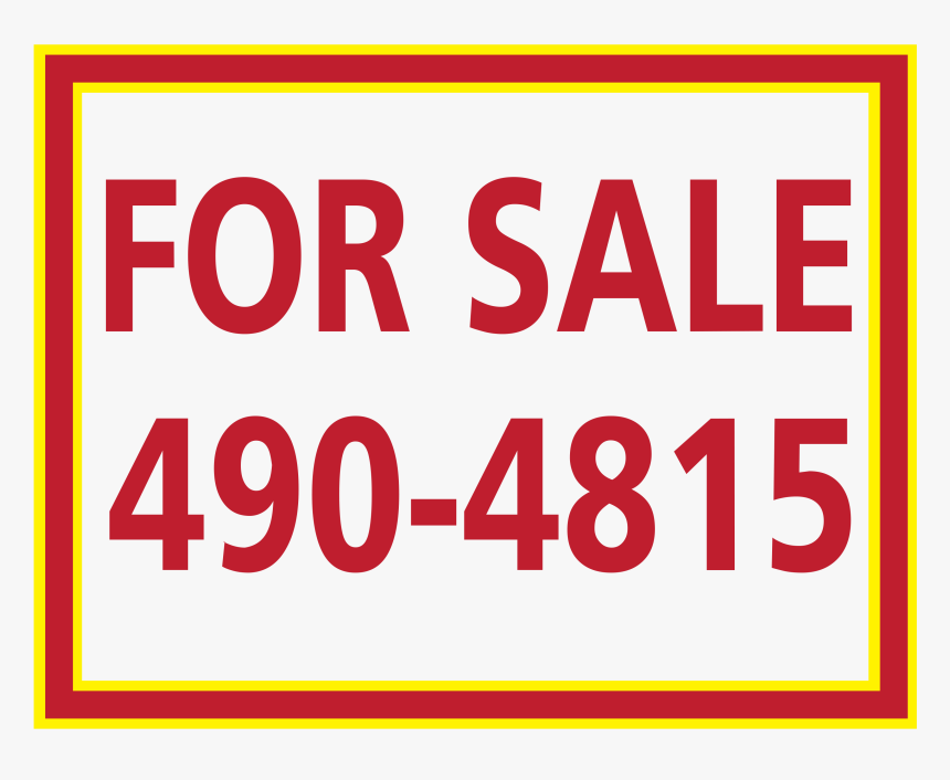 Custom For Sale Vehicle Sticker - Sign, HD Png Download, Free Download
