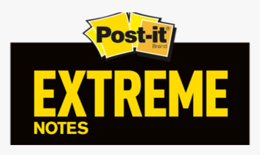 Introducing Post-it® Extreme Notes Communicating Is - Post It Notes, HD Png Download, Free Download