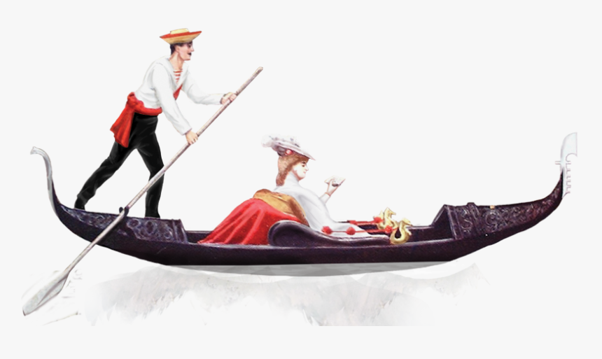 Gondola,vehicle,water And Boating Equipment And - Venice Png, Transparent Png, Free Download