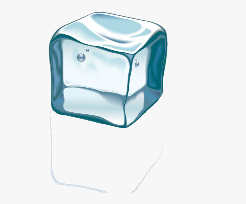 Ice Cube Melting Clip Art - Frozen Transparent Ice Cube, HD Png Download, Free Download