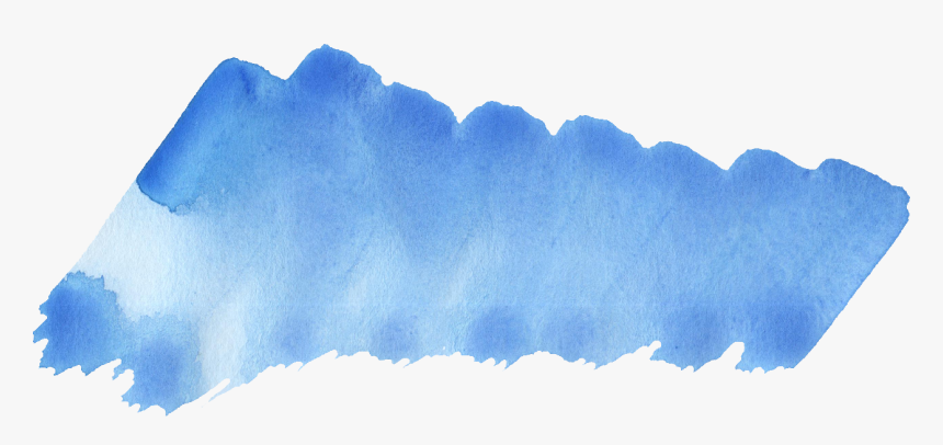 Watercolor Brush Strokes Png -png File Size - Watercolor Brush Stroke Png, Transparent Png, Free Download