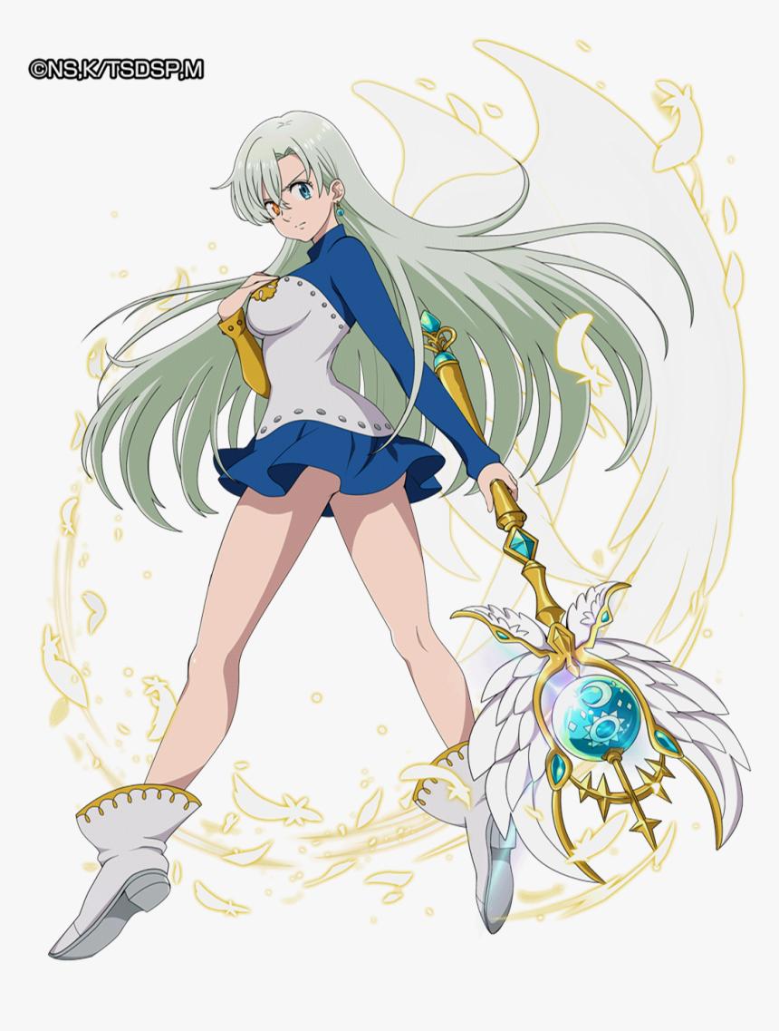 Anime Nanatsu No Taizai Elizabeth, HD Png Download - kindpng