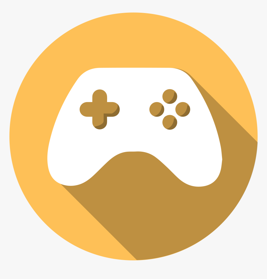 Gaming Icon Png - Game Icon Png Yellow, Transparent Png, Free Download