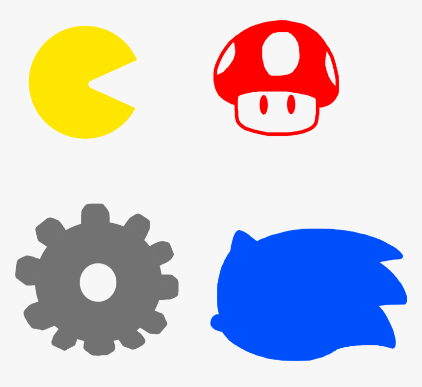 Game Icons By Marcospower - Symbols For Video Games, HD Png Download, Free Download