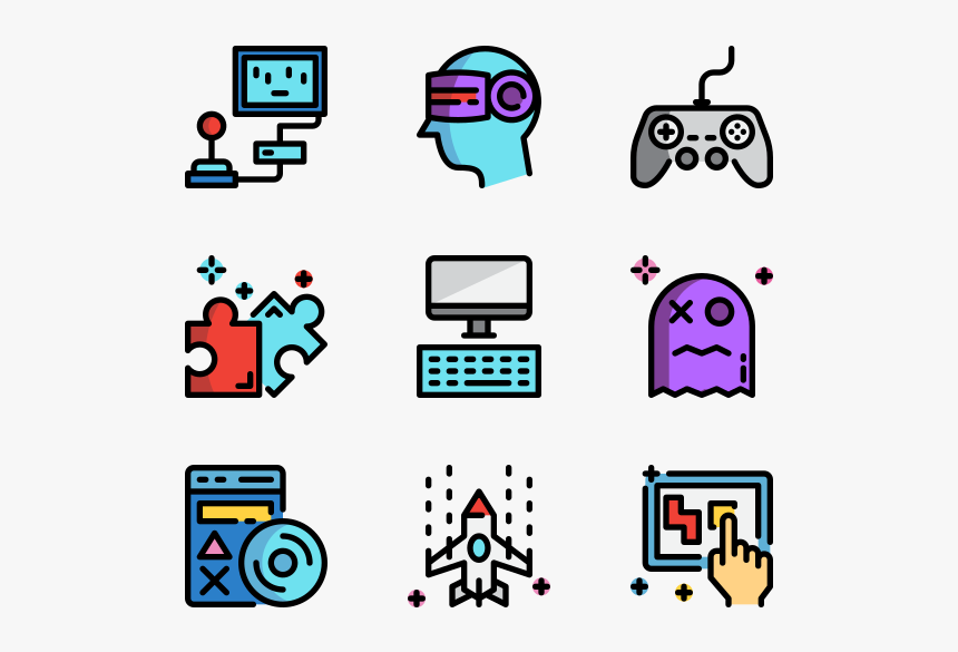 Video Game - Home Automation Icons, HD Png Download, Free Download