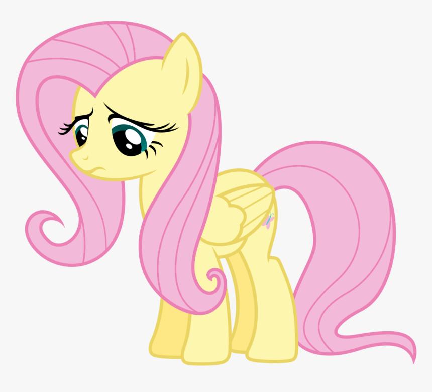 My Little Pony Fluttershy Sad Hd Png Download Kindpng