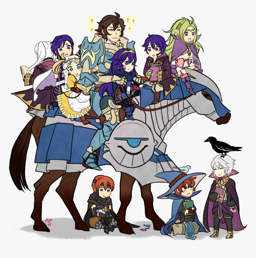 Fire Emblem Awakening Fire Emblem Robin Frederick Fire Emblem Hd Png Download Kindpng