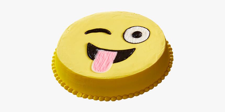 Crazy Silly Emoji - Cake, HD Png Download, Free Download
