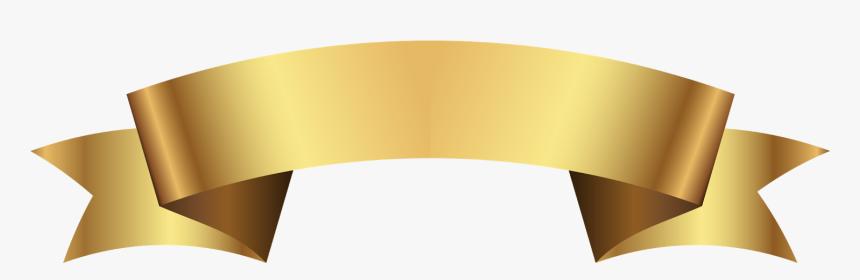 Clip Art Faixa Png Dourada - Faixa Png Fundo Transparente, Png Download, Free Download