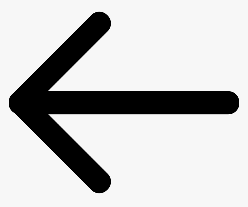 Back Arrow Png - Arrow Back Icon Png, Transparent Png, Free Download