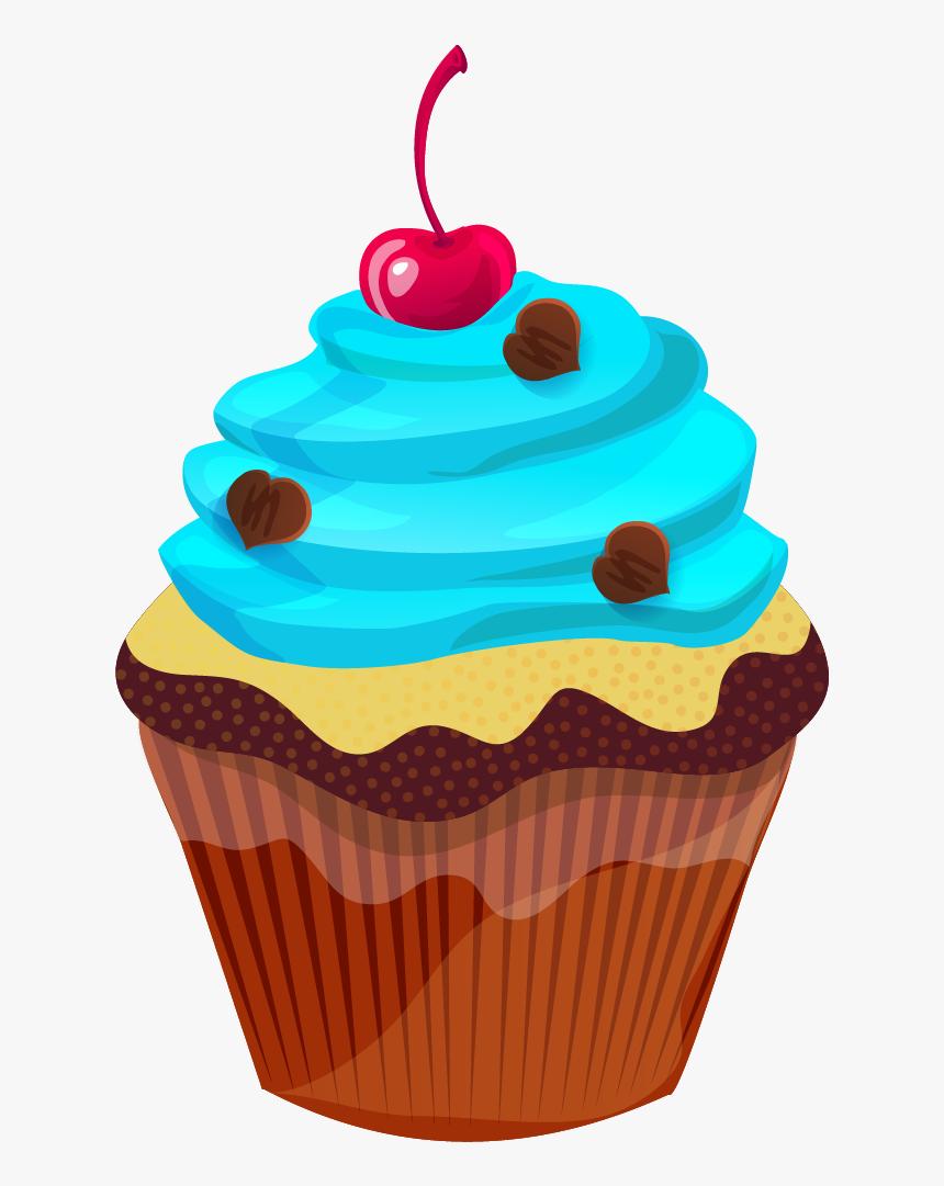 Cute Clip Art Cake - Cupcake Clipart, HD Png Download, Free Download