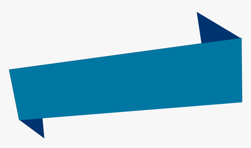Clip Art Blue Ribbon Banner - Banner Purple Ribbons Png, Transparent Png, Free Download