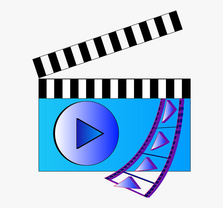 Transparent Video Editing Icon Png - Film Video Icon, Png Download, Free Download